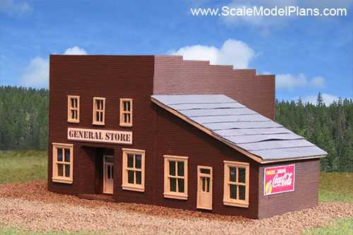 Scale Plans For Model Train Structures
