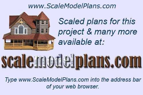 Printable Buildings in 1:144 - 1:160 or N scale for Miniature