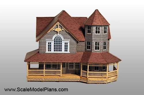 Structure plans for all popular model railroad scales for Model homes to build