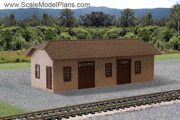 Model Railroad and Diorama Trackside Plans in HO Scale, O