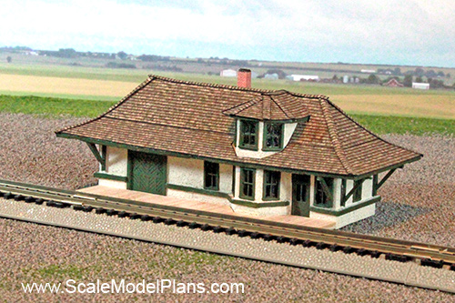 Model Railroad And Diorama Trackside Plans In Ho Scale O