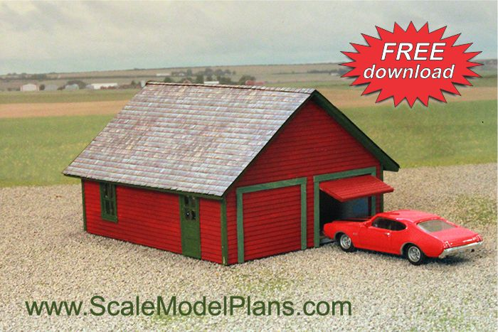 photo regarding Free Printable Ho Scale Buildings known as Type Railroad Establishing Packages inside of HO Scale, O Scale, OO Scale