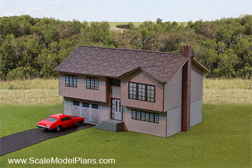 image about Ho Scale Buildings Free Printable Plans called Scratch Producing Tutorials
