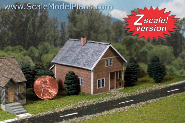 This is a picture of Printable Model Railroad Buildings regarding low relief
