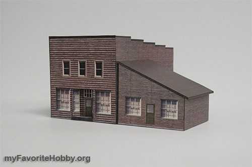 Model Railroad Structures Gallery Of Plans