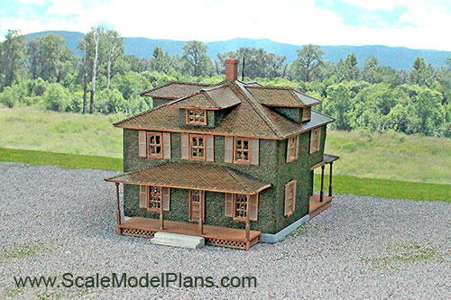 model railroad building plans in ho scale o scale oo scale and n