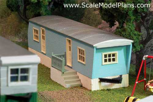 Structure Plans for all popular model railroad scales