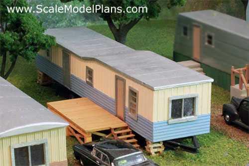 Model Railroad Plans Structures