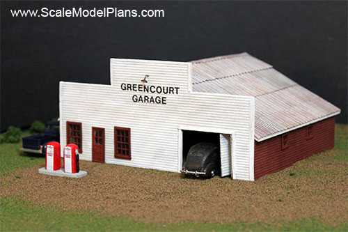 Model Railroad and Diorama Trackside Plans in HO Scale, O Scale, OO