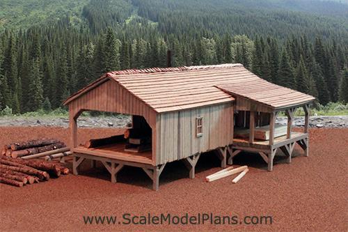 Plans For Model Railroad Industrial Buildings In Ho O Oo