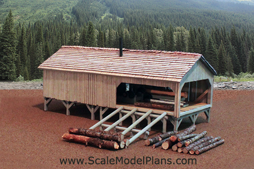 Model Railroad Post and Beam Tutorial