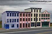 HO Scale model building
