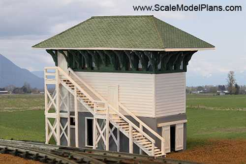 photo relating to Ho Scale Buildings Free Printable Plans referred to as Style Railroad and Diorama Trackside Programs within just HO Scale, O