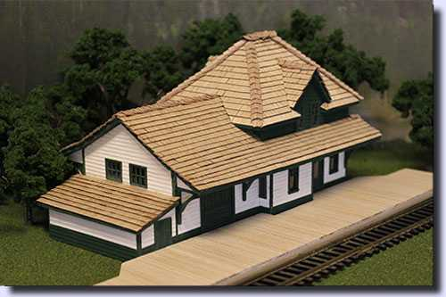 Scale model house builders