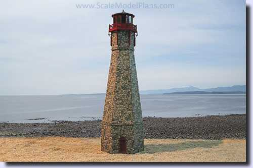 HO Scale lighthouse