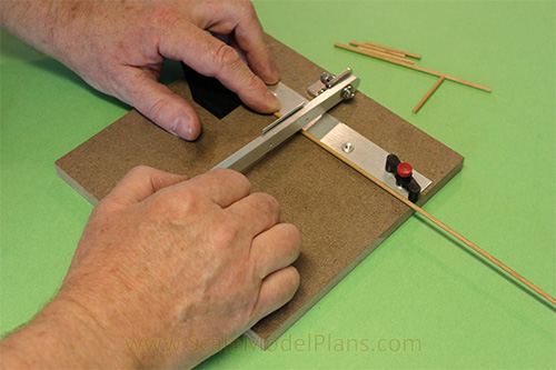 How to make HO Scale Metal Roofing - ScaleModelPlans.com