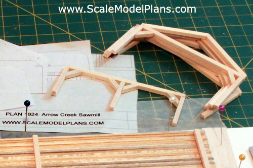 Model Railroad Post And Beam Tutorial