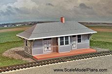 Grand Trunk Model railroad building
