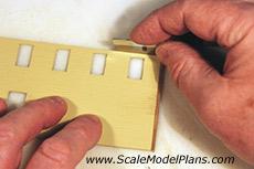 HO Scale corner boards