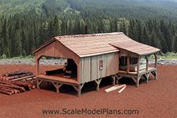 HO Scale Sawmill